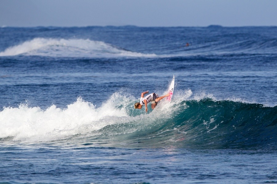 Kolohe Andino (USA) lost in the round of 64.   © ASP / Rowland