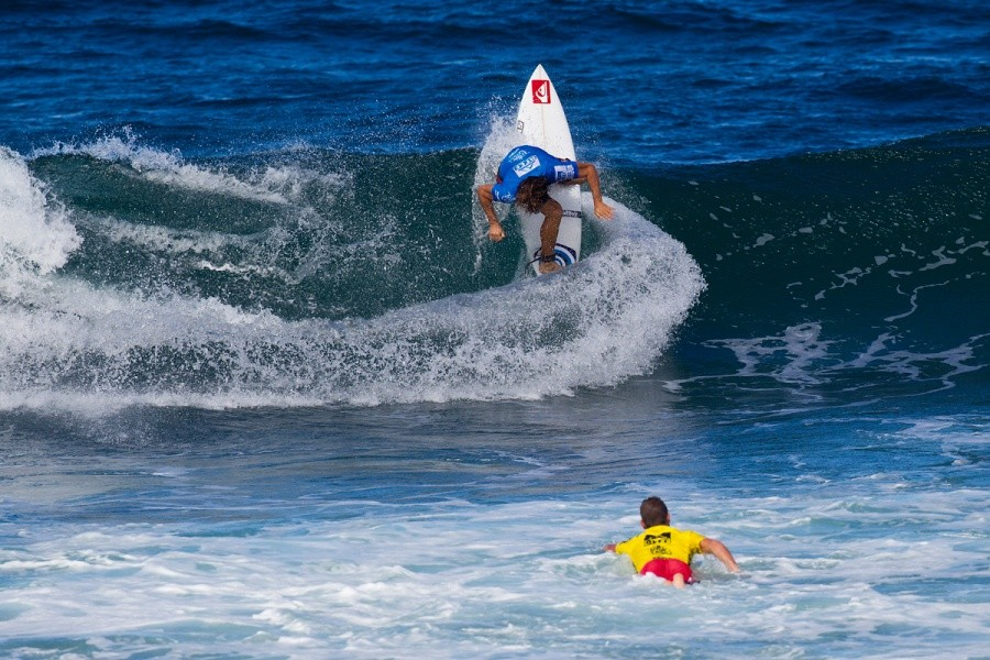 Aritz Aranburu (EUK) advanced to the quarterfinals.   © ASP / Rowland