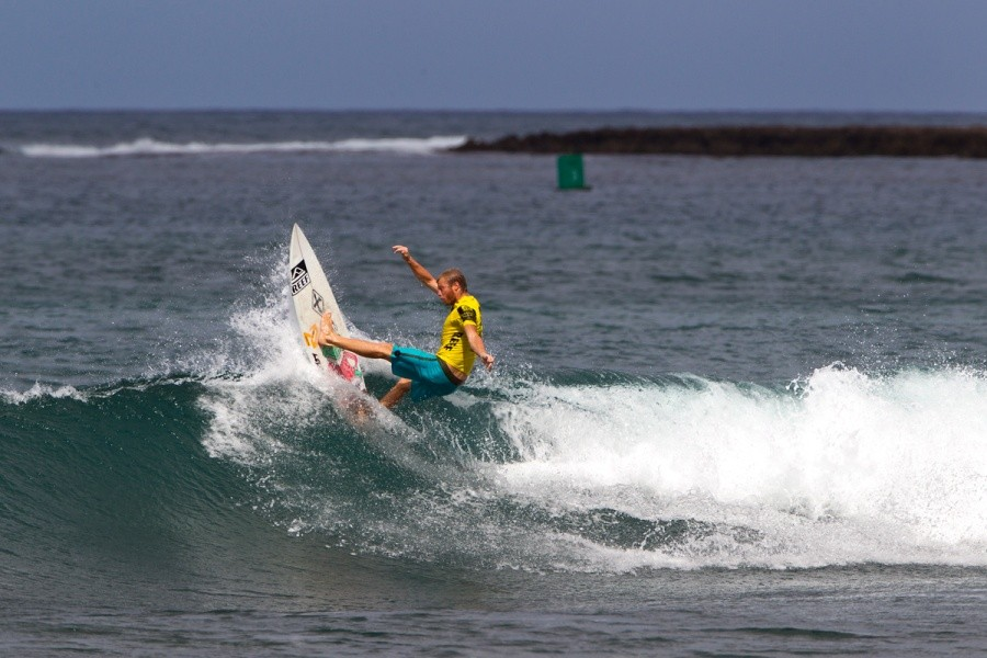 Leandro Usuna (ARG) advanced into the round of 32.   © ASP / Rowland