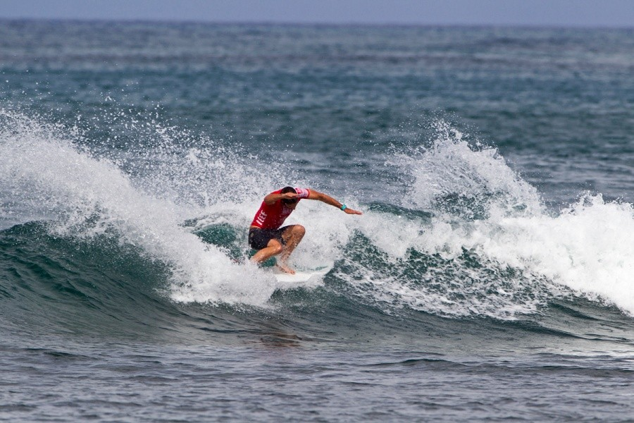 Dion Atkinson will compete again in heat 5 of the round of 32.   © ASP / Rowland