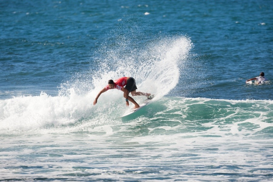 Dion Atkinson (AUS) advanced to the quarterfinals.   © ASP / Cestari