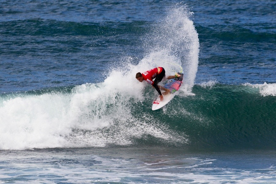 Matt Banting (AUS) made it to the quarters.   © ASP / Rowland