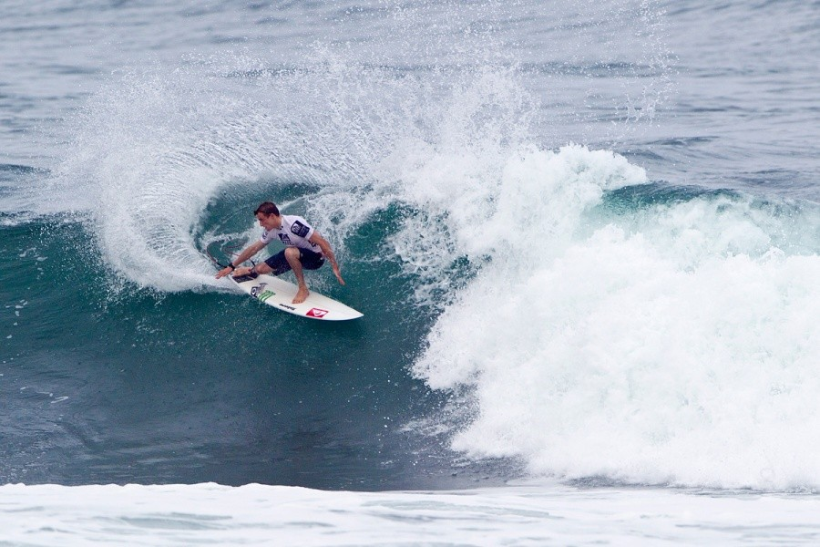Matt Banting (AUS) moves into the round of 64.   © ASP / Rowland
