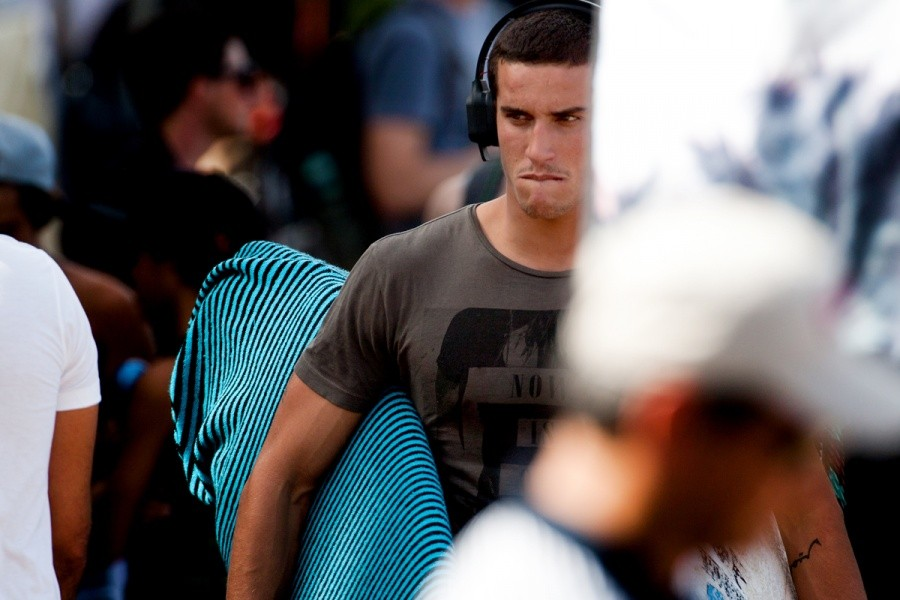 Ramzi Boukhiam (MAR) exits the event site with the steely look of Job Done.   © ASP / Cestari