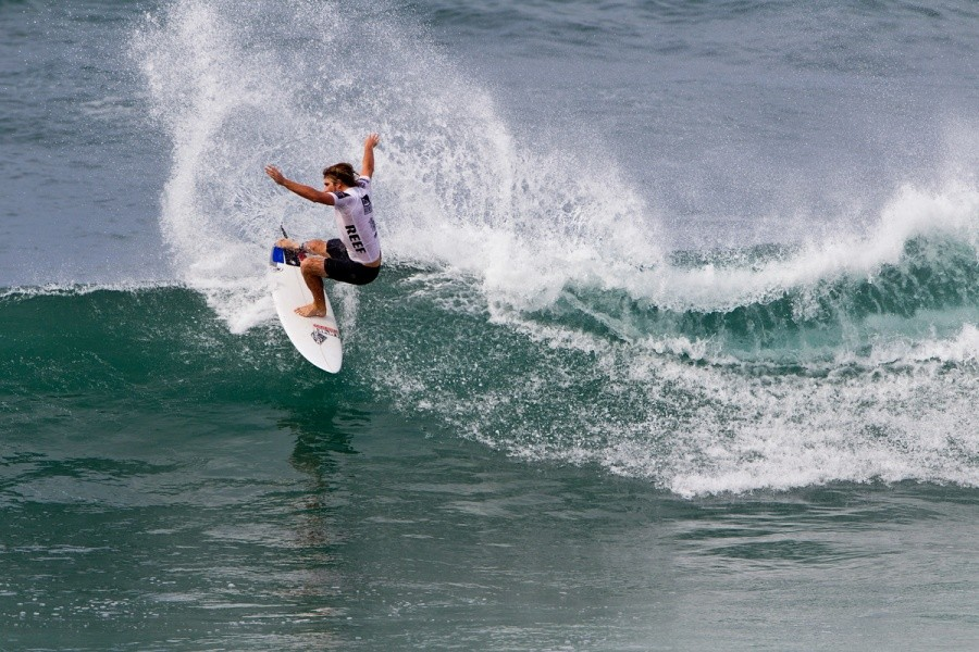 Wade Carmichael (AUS) placed second in his heat and advanced into the next round.   © ASP / Rowland