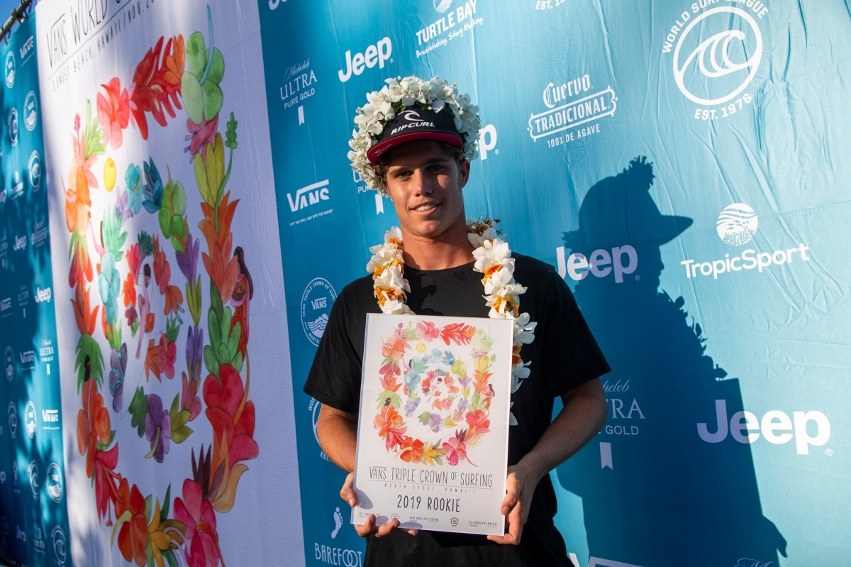 Vans Triple Crown 2019 Rookie of the Year, Morgan Cibilic.   © WSL / Heff