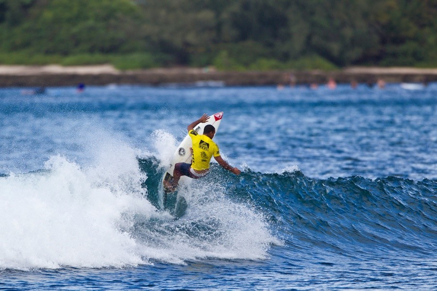 Wiggoly Dantas (BRA) was eliminated in the round of 64.   © ASP / Rowland