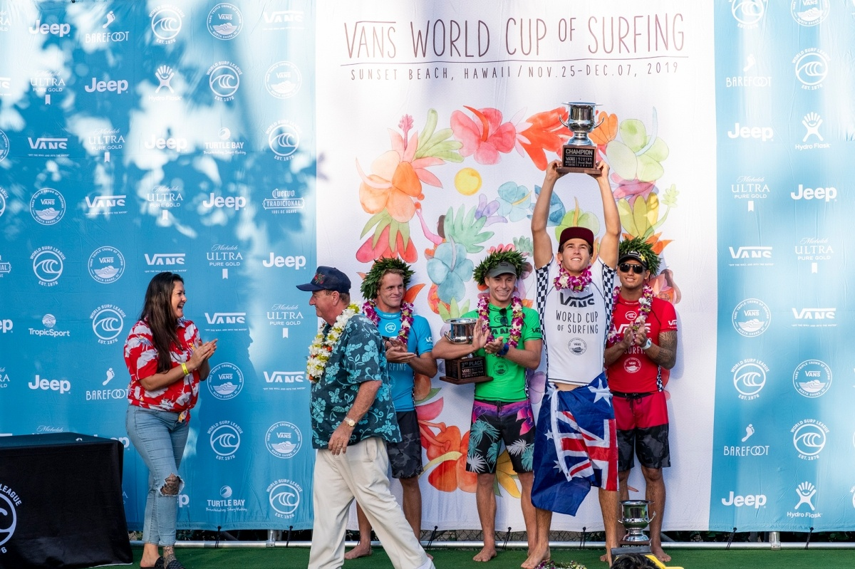 Event finalists.   © WSL / Keoki