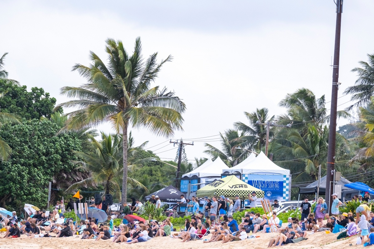 Vans World Cup of Surfing.   © WSL / Keoki