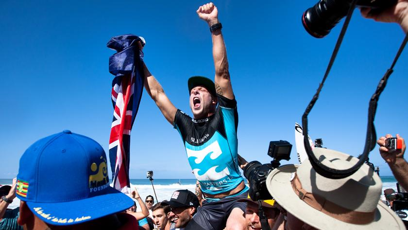 Mick Fanning Claims 2013 ASP World Title