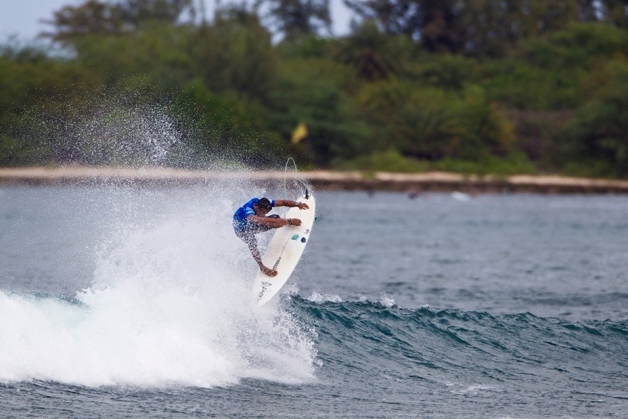 Messias Felix (BRA) failed to advance out of the round of 64.   © ASP / Rowland