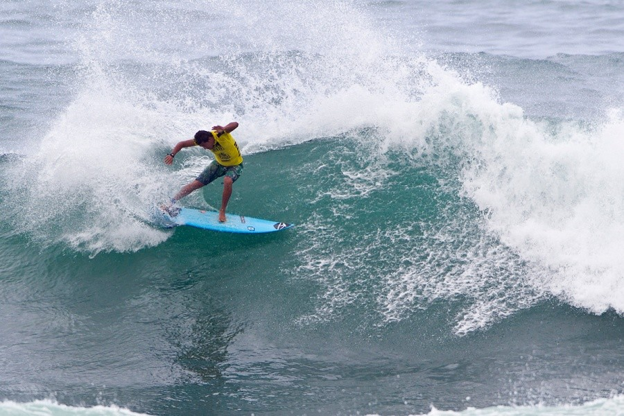 Marco Fernandez (BRA) was eliminated in the round of 96 today.   © ASP / Rowland