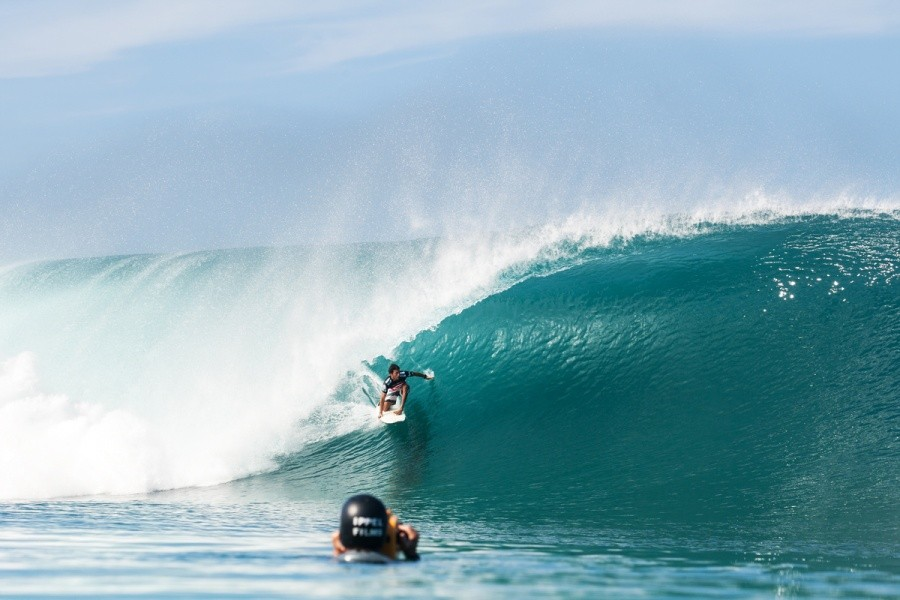 Jeremy Flores (FRA) threading his way to equal 9th.   © ASP / Cestari