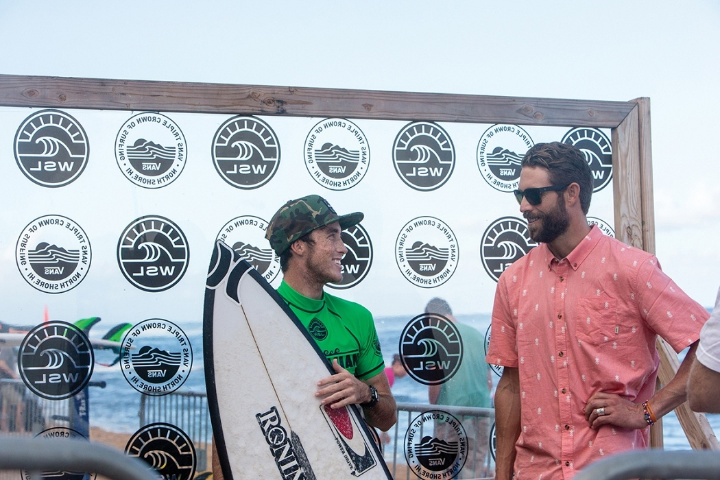 Elijah Gates and Ian Foulke.   © WSL / Heff