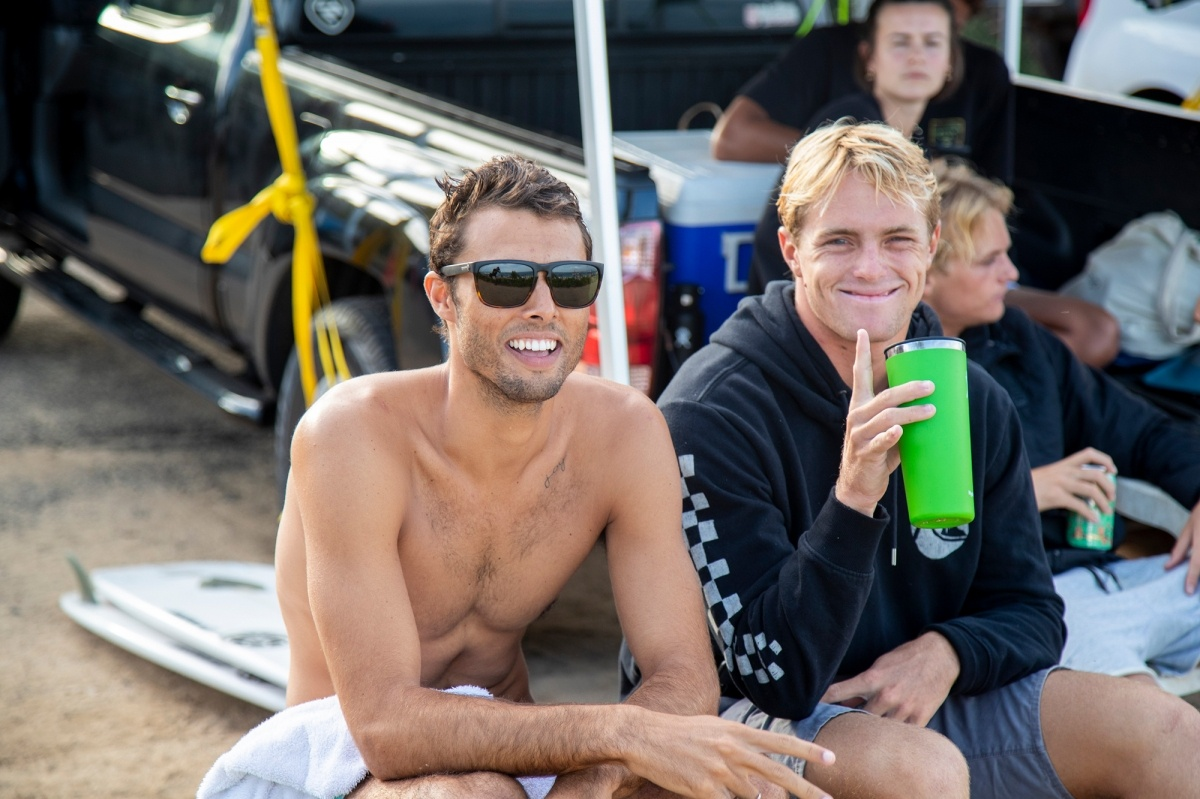Ian Gentil and Cody Young.   © WSL / Heff
