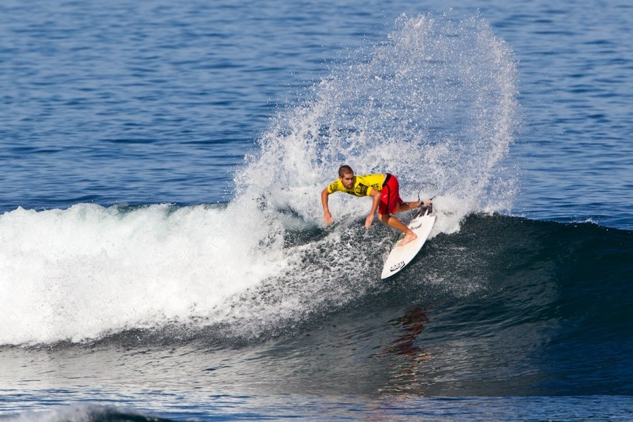 Dylan Goodale will compete again in heat 1 of the round of 32.   © ASP / Rowland