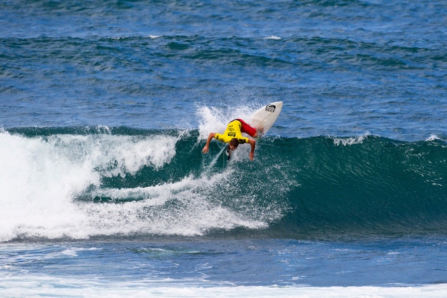 Dylan Goodale (HAW) was eliminated in the round of 32.   © ASP / Rowland