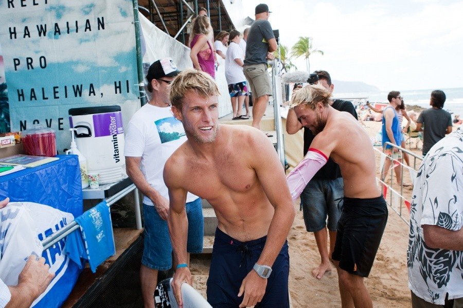 Taking 2nd place, Pat Gudauskas (USA) had to eliminate his brother Tanner to advance into the Quarter Finals.   © ASP / Cestari