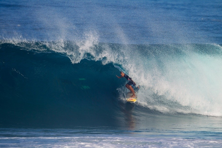 Marcus Hickman eliminated on the opening day of competition.   © ASP / Kirstin
