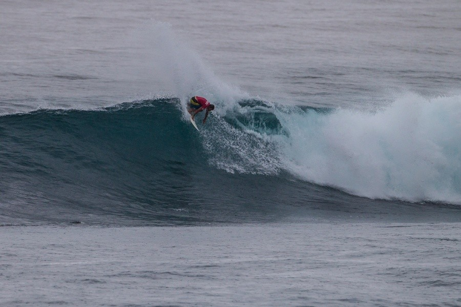 Damien Hobgood finished in 2nd behind Ezekiel Lau.   © ASP / Kirstin