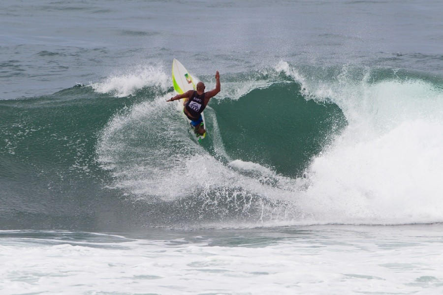 Kaipo Jaquais (HAW) during the Battle of The Legends.   © ASP / Rowland