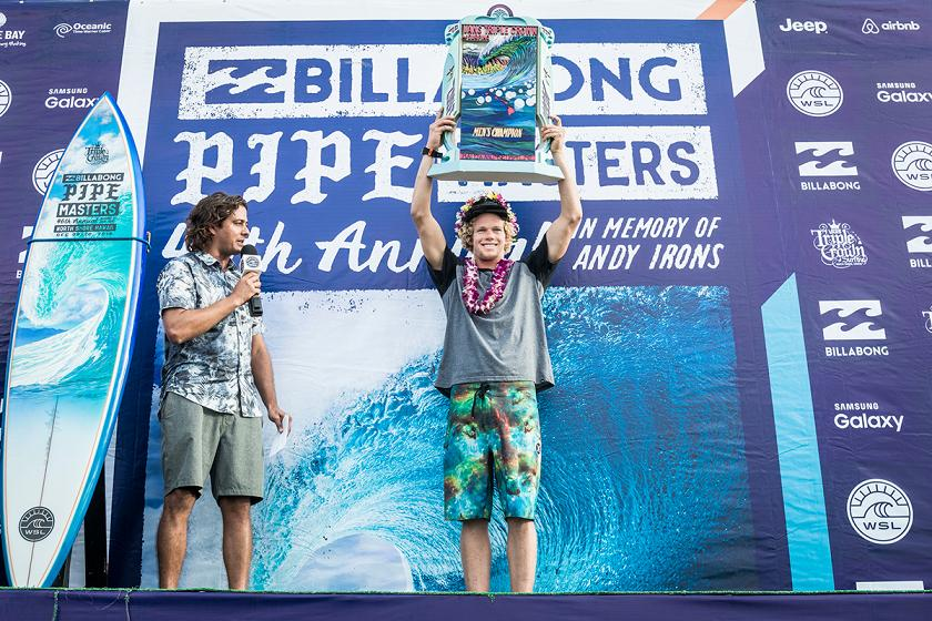 John John Florence Wins Third Vans Triple Crown of Surfing