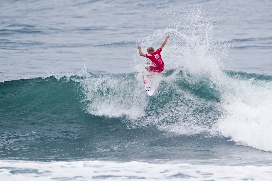 Stu Kennedy (AUS) was eliminated in the round of 96.   © ASP / Rowland