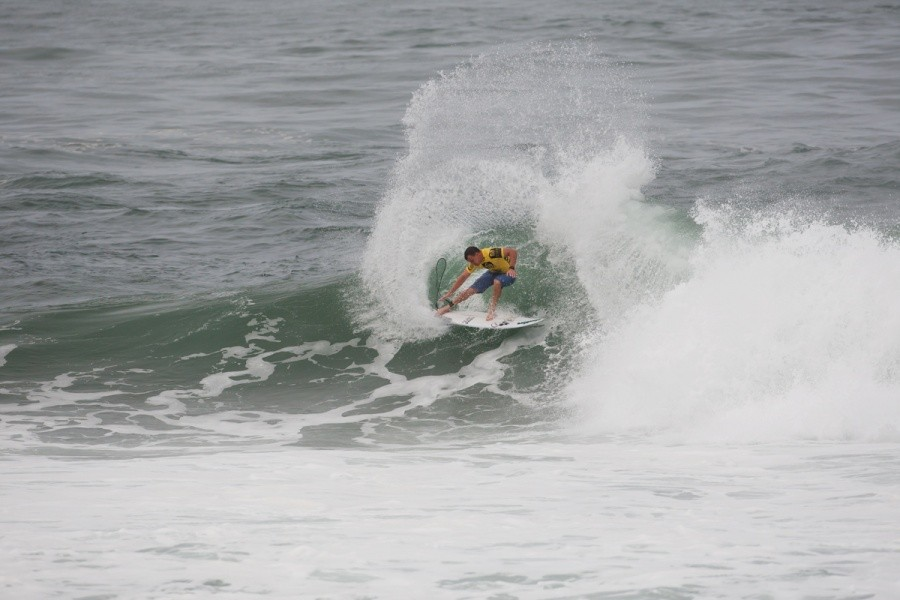 Gabe Kling (USA) posted the day's highest single wave score of 9.33 in Round 1.   © ASP / Cestari