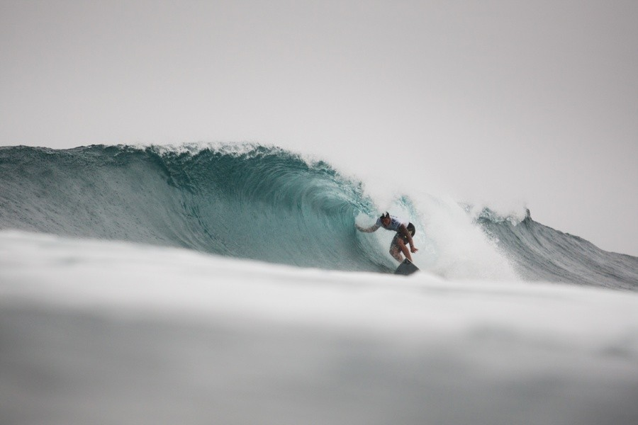 2013 VANS World Cup of Surfing Champion Ezekiel Lau (HAW).   © ASP / Cestari