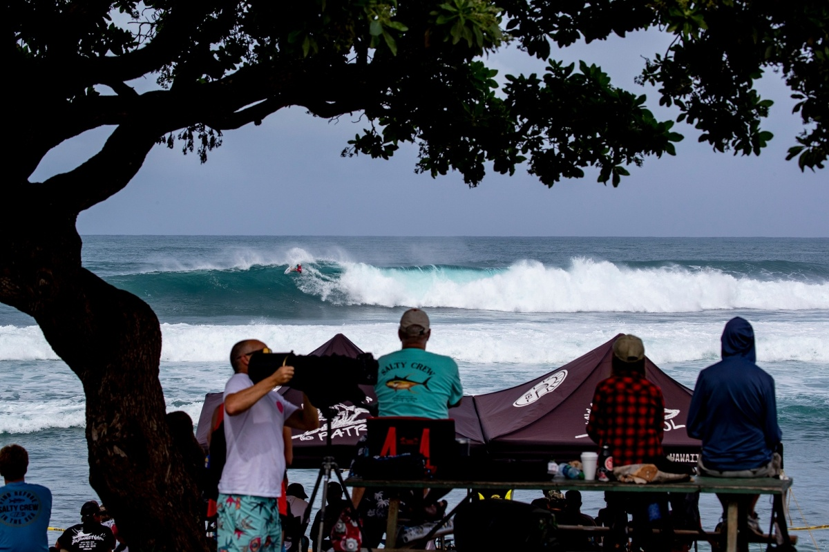 All-time Haleiwa.   © WSL / Heff