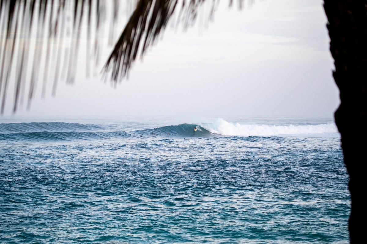 Sunset Beach.   © WSL / Heff