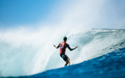 Surf Breaks: The World Title Race Narrows