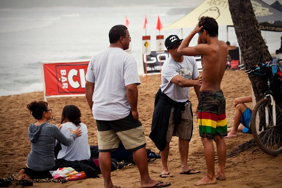 Seth Moniz rattled after his elimination in the round of 96.   © ASP / Rowland
