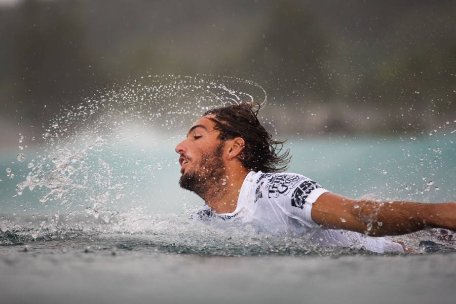 Rain was not going to stop Rookie of the year Frederico Morais (PRT).   © ASP / Cestari