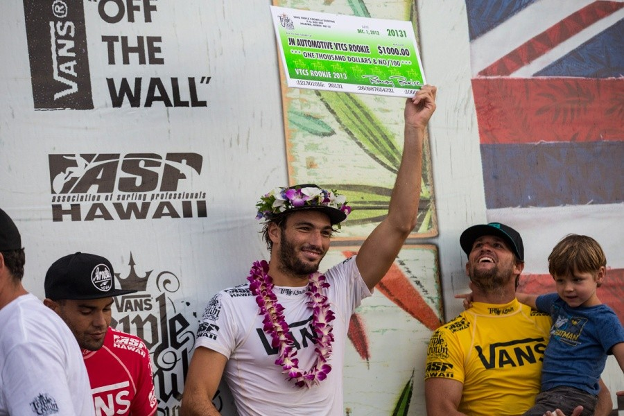 Frederico Morais won the JN Automotive Rookie of the Year Award.   © ASP / Kirstin
