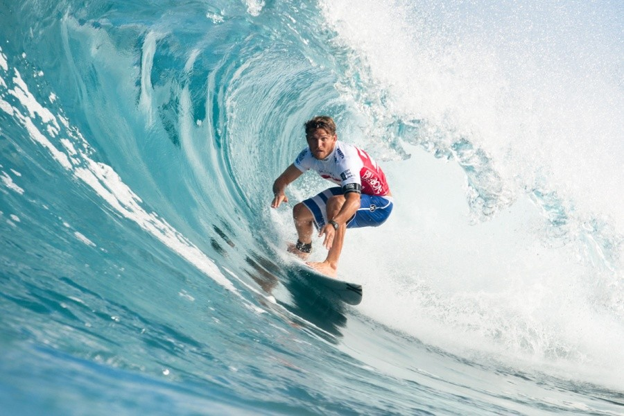 Yadin Nicol (AUS) with his eye on the prize, a spot in Round 3.   © ASP / Cestari