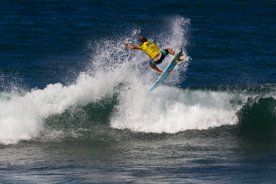 Yadin Nicol (AUS) made it to the quarters.   © ASP / Rowland