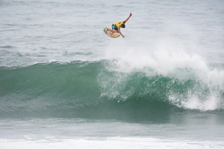 Yadin Nicol (AUS) went all out to win in Round 1.   © ASP / Cestari