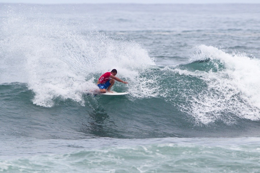 Ezekiel Lau (HAW) pulled off the win on his home turf today.   © ASP / Rowland