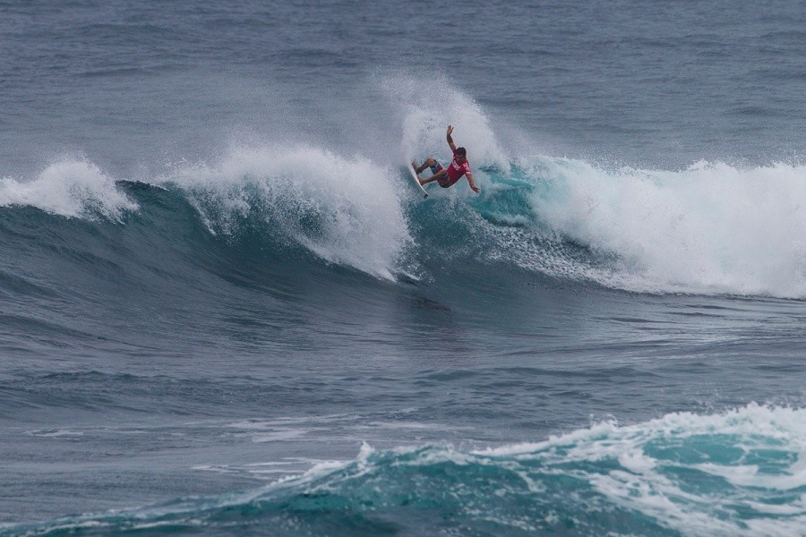 Ola Eleogram advancing into the semifinals.   © ASP / Kirstin