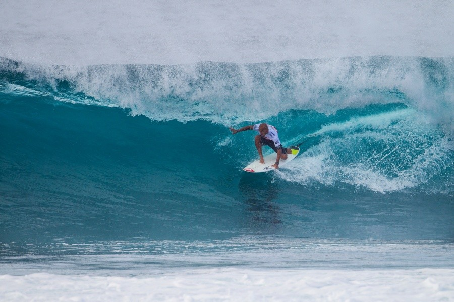 Fred Patacchia Jnr. in great form advancing into Round 3.   © ASP / Kirstin