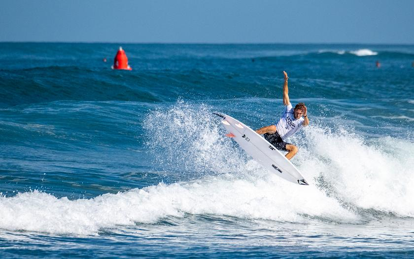 First Day of Hawaiian Pro Sees Locals and Rookies Rise Out of Round 1