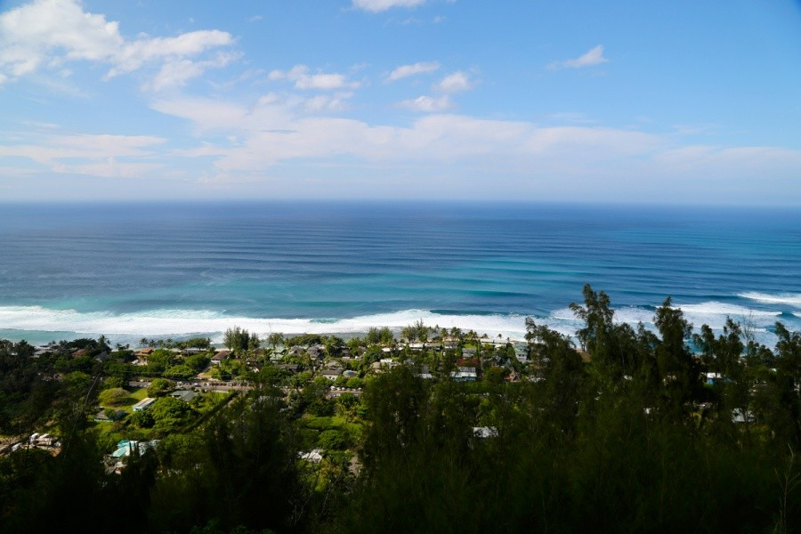 The North Shore from above.   © ASP / Kirstin