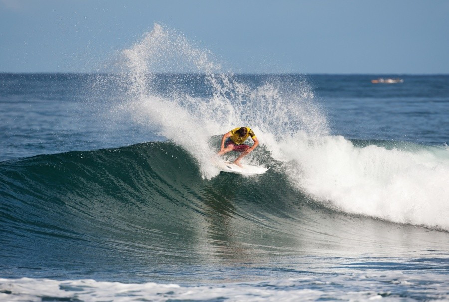 Dane Reynolds (USA) into the Semi Finals.   © ASP / Cestari