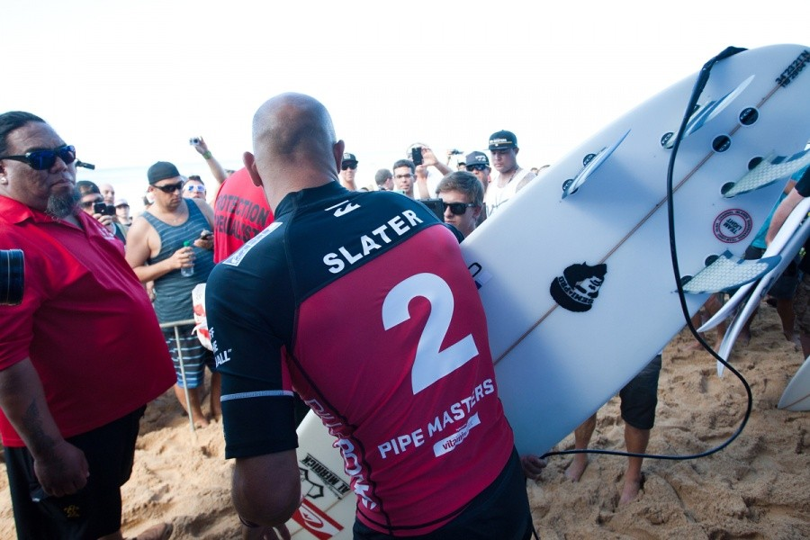 Finish in the number 2 position may fire Kelly Slater (USA) up to challenge for the title in 2014.   © ASP / Cestari