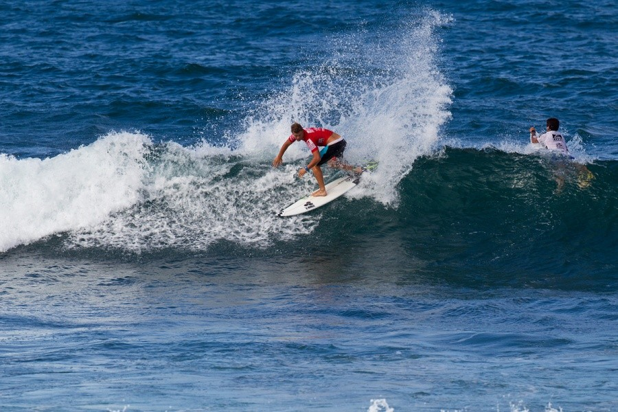 Dale Staples (ZAF) was ousted in the round of 32.   © ASP / Rowland