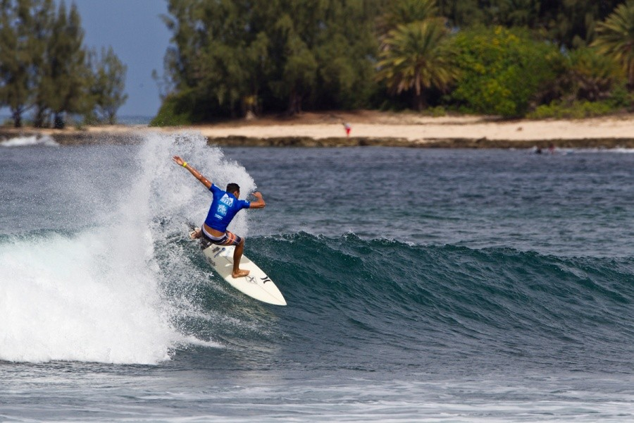 Evan Valliere will compete again in heat 6 of the round of 32.   © ASP / Rowland