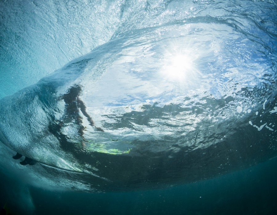 Beautiful waters of Hawaii.   © WSL / Poullenot