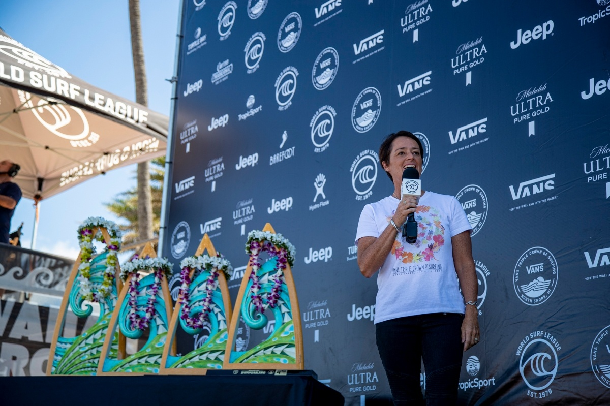 WSL General Manager North America and Hawaii, Jody Wilmott.   © WSL / Heff