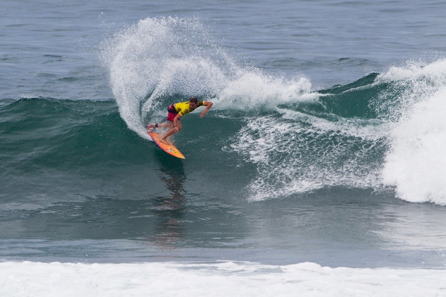 Nate Yeomans will compete again in heat 5 of the round of 32.   © ASP / Rowland